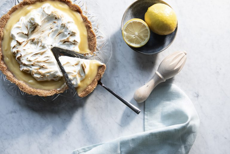 Limoncello meringuetaart