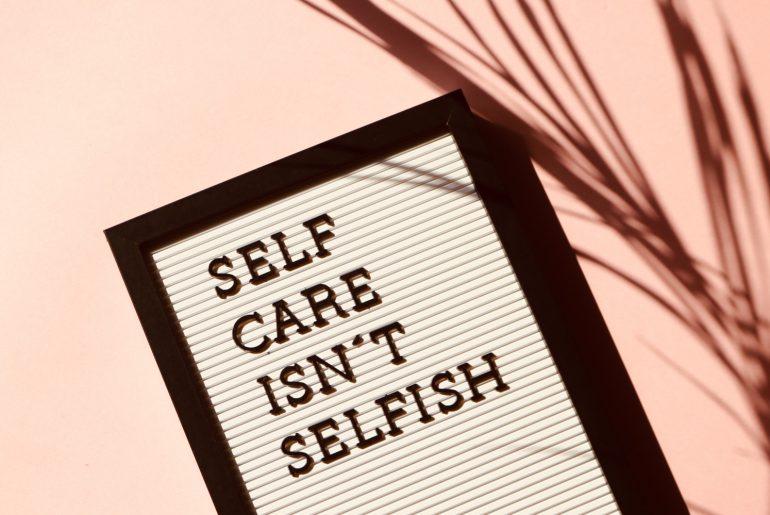 Zorg goed voor u zelf