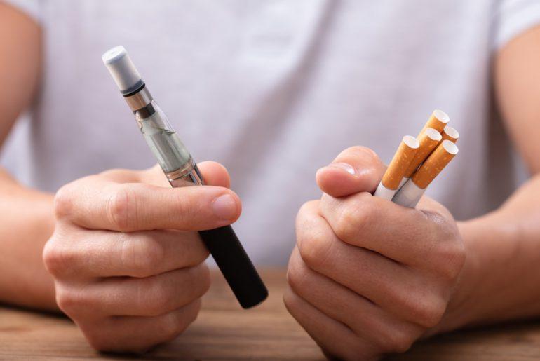 Hoe reageert het menselijk lichaam op een elektrische sigaret