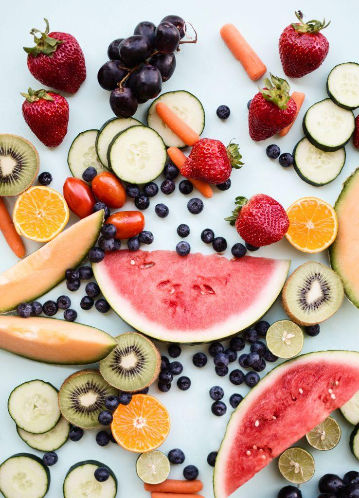 voorverpakte zakjes fruit