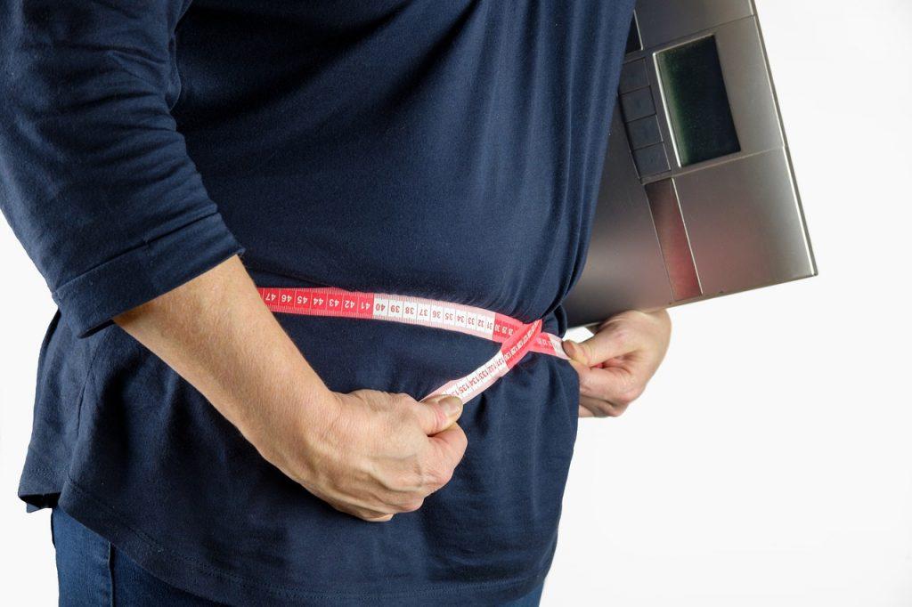 tevreden met ernstig overgewicht